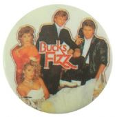 Bucks Fizz - 'Group White' Button Badge